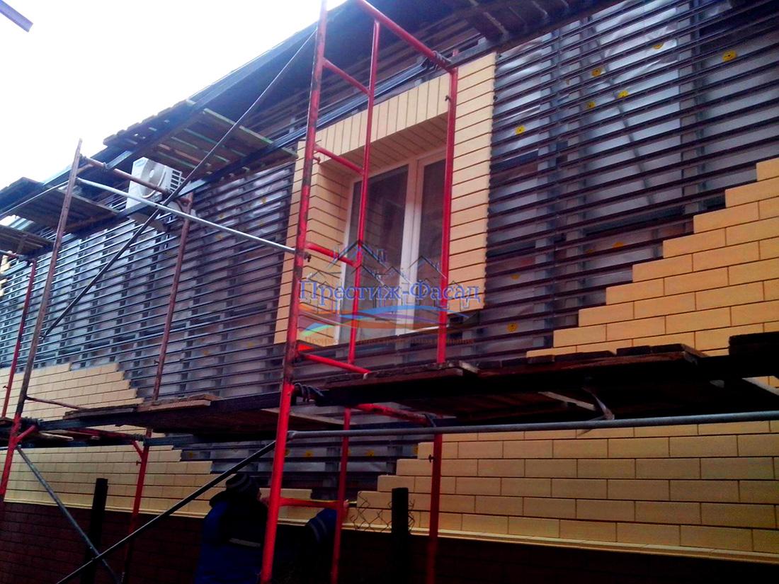 ориентирован ронсон система на фасаде дома фото хочется